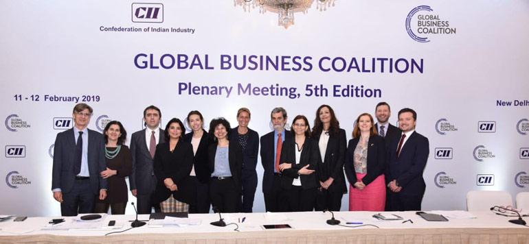 La CGEM participe à l'Assemblée Générale de la Global Business Coalition en Inde
