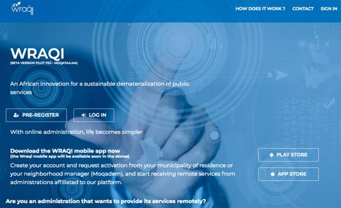 Casablanca : présentation de «wraqi.ma», une plateforme pour la dématérialisation des services publics