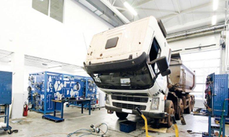 ACCM garage dédié aux poids lourds