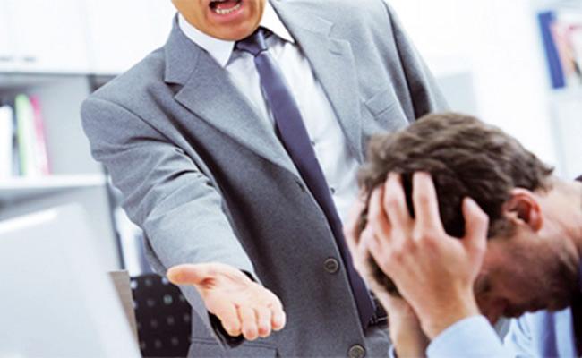 violence verbale au travail