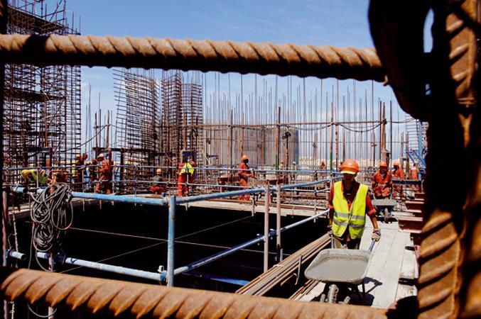 BTP operations de construction