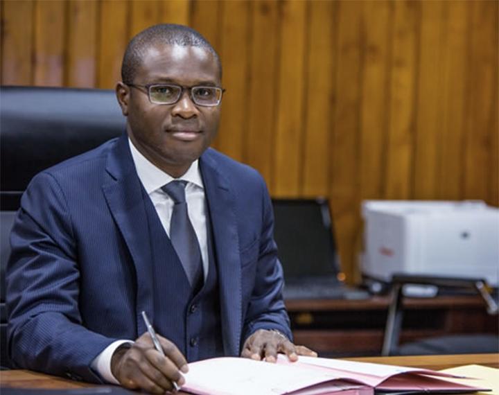 Romuald Wadagni Ministre de l'économie et des finances du Bénin