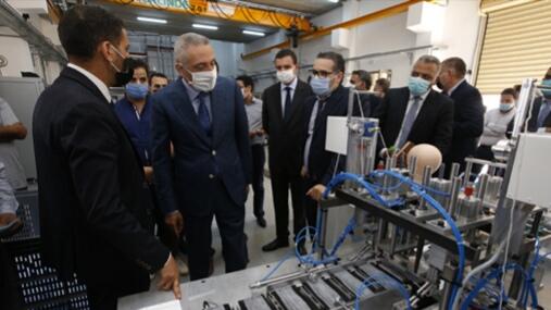 Une machine 100% marocaine pour la fabrication de masques de protection