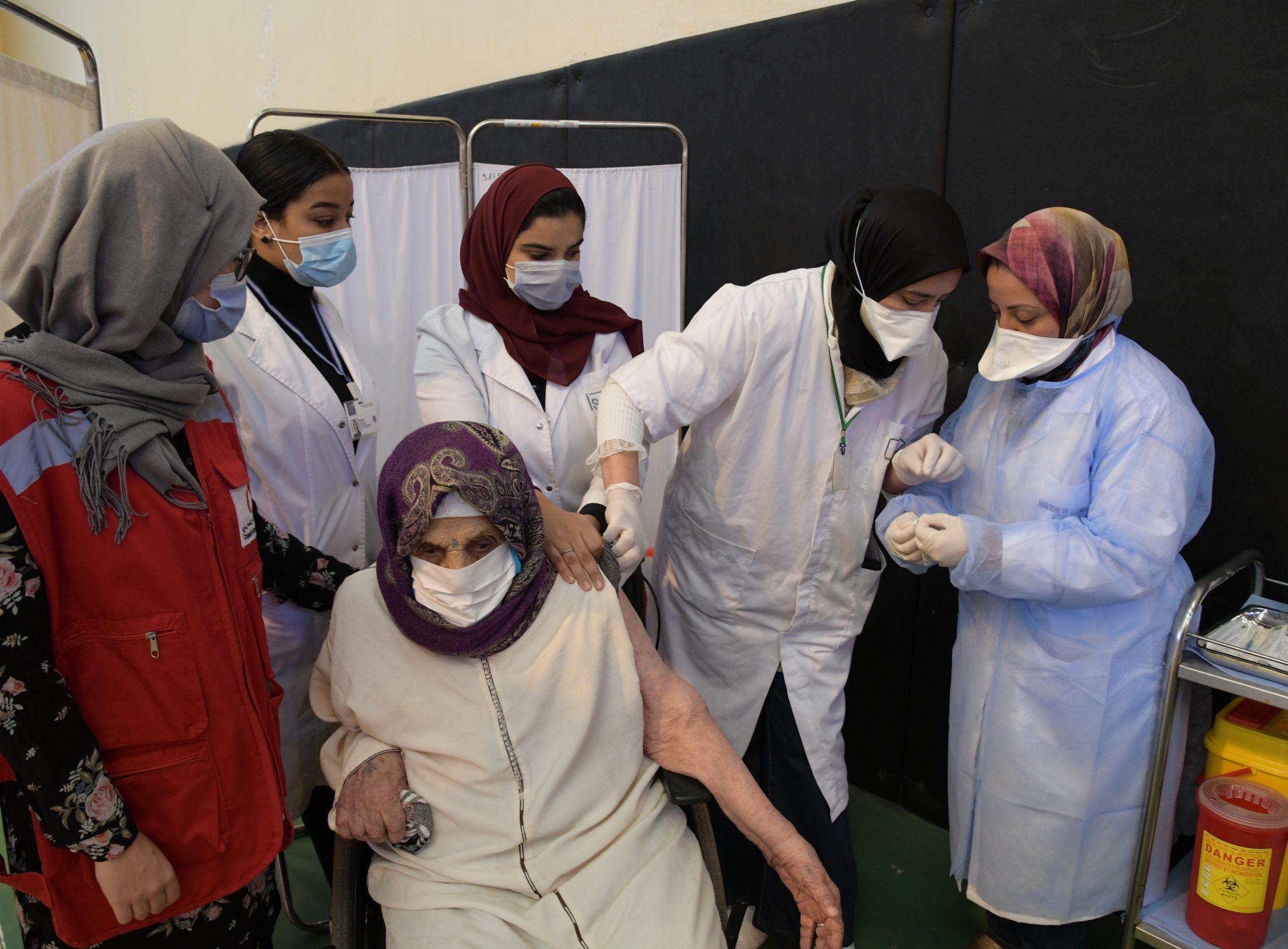 Campagne de vaccination Casablanca
