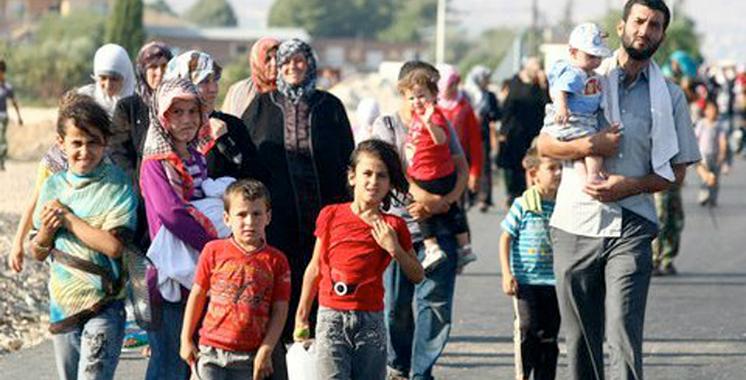 réfugiés résidents au Maroc