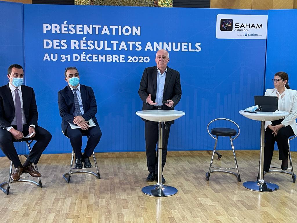 Saham Assurance : Présentation des résultats annuels