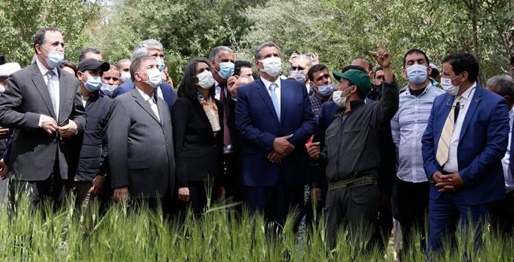Son programme de mise a niveau et de developpement lance par les ministres Akhannouch et Nadia Fettah La nouvelle vie de la Vallee dAit Mansour